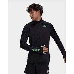 T-shirt Adizero Warm 1/2 Zip Long Sleeve - - Adidas - Modalova