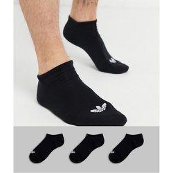 Adicolor - Lot de 3 paires de chaussettes de sport à logo trèfle - adidas Originals - Modalova