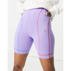 Adicolor - Short legging à logo trèfle - adidas Originals - Modalova