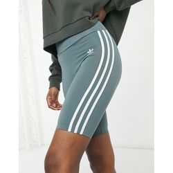 Adicolor - Short legging taille haute à trois bandes - Oxyde - adidas Originals - Modalova