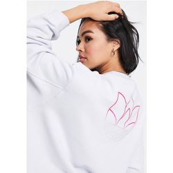 Adicolor - Sweat-shirt oversize avec logo - halo - adidas Originals - Modalova