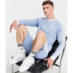 Adicolor - T-shirt à manches longues à trois bandes - clair - adidas Originals - Modalova