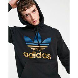 Hoodie avec logo trèfle dégradé - adidas Originals - Modalova