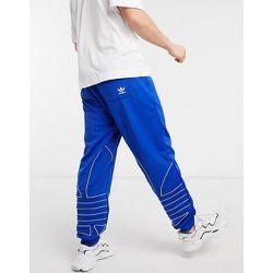 - Jogger de survêtement avec logo trèfle effet contour - adidas Originals - Modalova