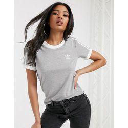 T-shirt 3 bandes à bordures contrastantes - adidas Originals - Modalova