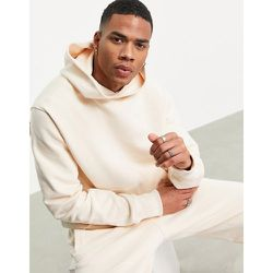 X Pharrell Williams - Hoodie de qualité supérieure - Écru - adidas Originals - Modalova