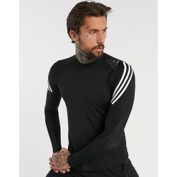 Adidas Training - Alphaskin - T-shirt manches longues à 3 bandes - adidas performance - Modalova
