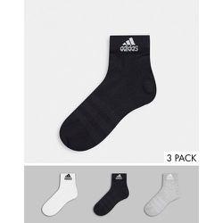 Adidas Training - Lot de 3 paires de socquettes - Multicolore - adidas performance - Modalova