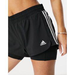 Adidas Training - Pacer - Short àbandes 2en1 - adidas performance - Modalova