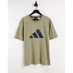 Adidas Training - T-shirt à grand logo BOS - Kaki - adidas performance - Modalova