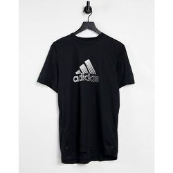 Adidas - Training - T-shirt à logo effet usé - adidas performance - Modalova