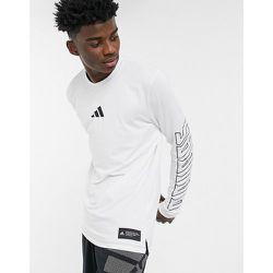 Adidas Training - T-shirt à manches longues avec logo - adidas performance - Modalova