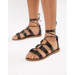 Sandales en cuir avec lien à nouer à la cheville - ALDO - Modalova