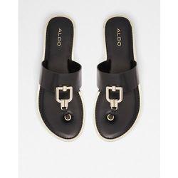 Tatyx - Sandales plates à entredoigt avec détails métalliques - ALDO - Modalova
