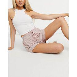 Mix & Match - Short confort côtelé ultra doux - Rose sombre - ASOS DESIGN - Modalova