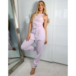 ASOS - Weekend Collective - Jogger oversize confort en tissu gaufré - Lilas - ASOS Weekend Collective - Modalova