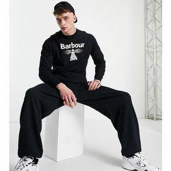 Exclusivité ASOS - Sweat-shirt à grand logo - Barbour Beacon - Modalova