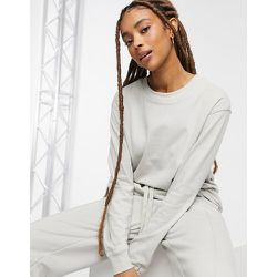 Sweat-shirt oversize unisexe en coton biologique (ensemble) - Bershka - Modalova