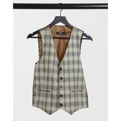 Veston de costume ultra cintré à carreaux - Bolongaro Trevor - Modalova