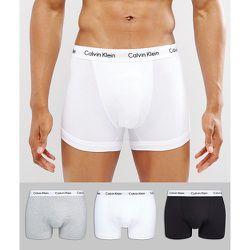 Lot de 3 boxers en coton stretch - Calvin Klein - Modalova