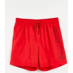 Short de bain mi-long avec cordon de serrage - flamme - Calvin Klein - Modalova