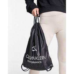 Sports - Sac à dos avec cordon de serrage - Calvin Klein - Modalova
