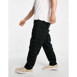 Flint - Pantalon coupe ajustée en velours côtelé à carreaux - Carhartt WIP - Modalova