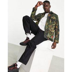 Caterpillar - Veste de travail en ripstop à imprimé camouflage - Cat Footwear - Modalova