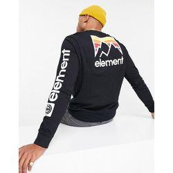 Joint - T-shirt à manches longues avec imprimé au dos - Element - Modalova