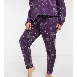 Exclusivité - ASOS DESIGN Curve - Mix & Match - Legging de pyjama à imprimé tarot - ASOS Curve - Modalova