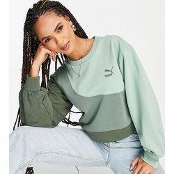 Exclusivité ASOS - - Convey - Sweat-shirt oversize à effet color block - Puma - Modalova