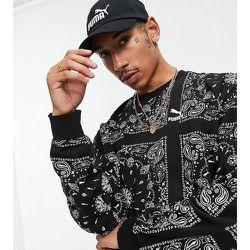 Exclusivité ASOS - - Off Beat - Sweat-shirt à motif cachemire - Puma - Modalova