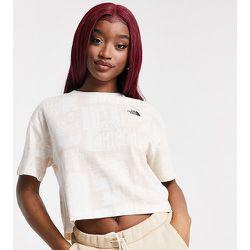 Exclusivité ASOS - - Distorted - T-shirt crop top - cassé - The North Face - Modalova