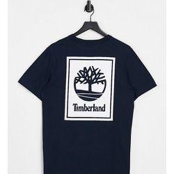 Exclusivité ASOS - - Back Stack - T-shirt - Bleu marine - Timberland - Modalova