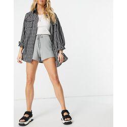 Short taille haute côtelé d'ensemble - Fashion Union - Modalova