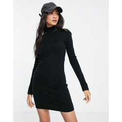 Robe courte ultra douce à col montant - French Connection - Modalova