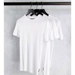 Tall - Lot de 3t-shirts confort - French Connection - Modalova