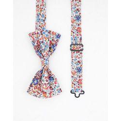 Nœud papillon à imprimé petites fleurs Liberty - Gianni Feraud - Modalova