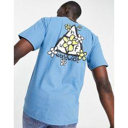 T-shirt avec motif triple triangle et pâquerettes - HUF - Modalova