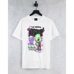 HUF - UFO - T-shirt - Blanc - HUF - Modalova