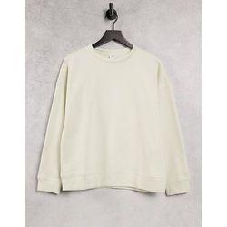 Sweat-shirt à manches longues et col ras de cou - Bouleau argenté - JDY - Modalova