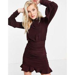 Robe courte à jupe froncée - Baie - Lipsy - Modalova