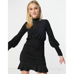 Robe courte à jupe froncée - Lipsy - Modalova