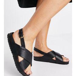 Sandales pointure large à bride arrière - London Rebel - Modalova