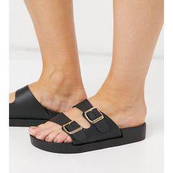 Sandales pointure large à double boucle - London Rebel - Modalova