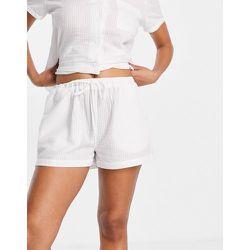 Mix and Match - Short de pyjama en crépon de coton - Loungeable - Modalova