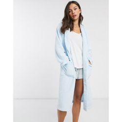 Robe de chambre à col châle - cendré - Loungeable - Modalova