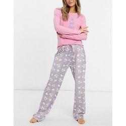 Top manches longues à inscription «No Bad Days» et pantalon de pyjama - Loungeable - Modalova