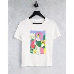 X Ana Leovy - Journée de la - T-shirt en coton biologique à motif graphique - Mango - Modalova