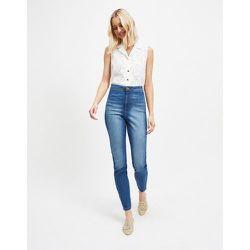 Tall - Steffi - Jean skinny taille super haute - délavé moyen - Miss Selfridge - Modalova